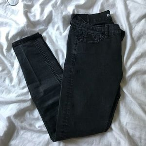 BDG Black Skinny Jeans Mid-Rise Twig